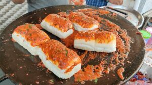 Masala Vadapav Indian Street Food